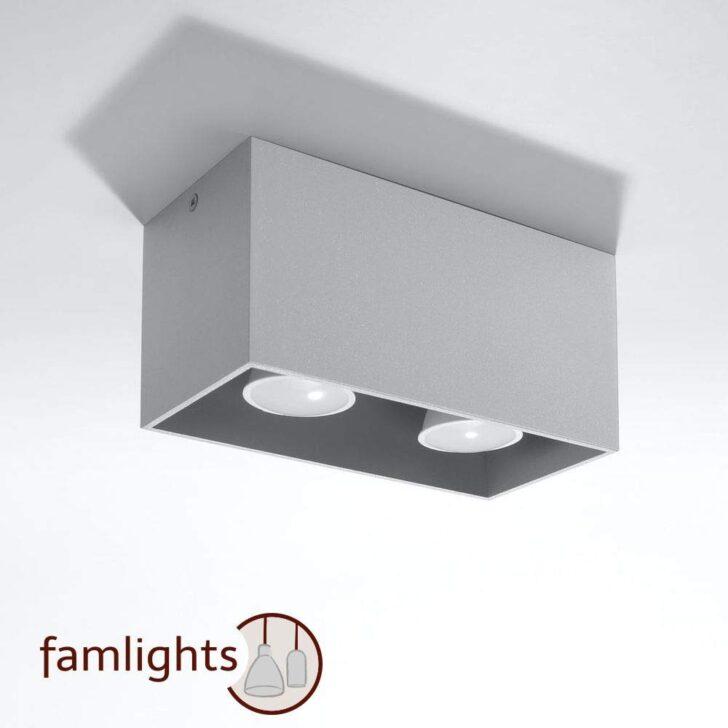 Medium Size of Famlights Deckenspot Alicia Aus Aluminium Küche Finanzieren Einbauküche Selber Bauen Lüftung Weiße Mit Tresen Kaufen Elektrogeräten Sitzgruppe Griffe Ohne Wohnzimmer Deckenlampe Küche Modern