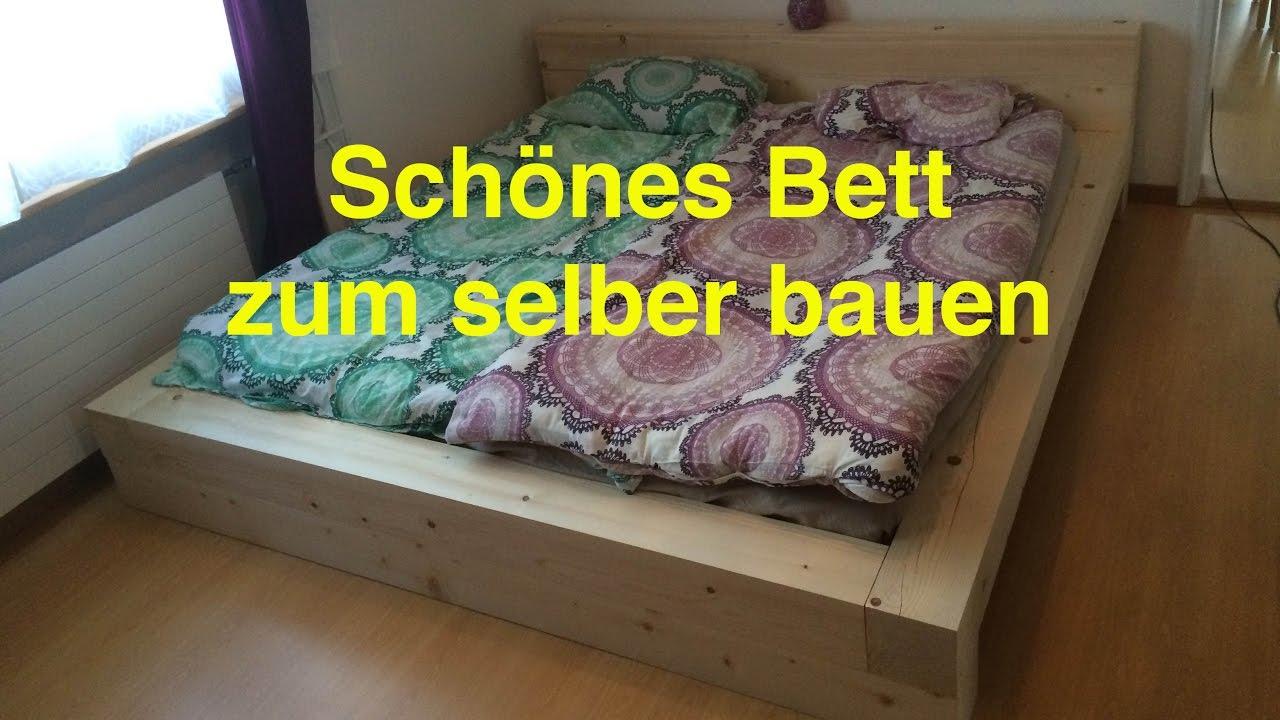 Full Size of Ein Bett Zum Selber Bauen By Lunchvegaz Youtube Bauhaus Fenster Wohnzimmer Eichenbalken Bauhaus