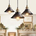 Vintage Retro Lampe Industrial Led Küche Wohnzimmer Schlafzimmer Bad Bett Esstisch Wohnzimmer Vintage Deckenleuchte