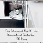 Den Eckschrank Der Kche Komfortabel Gestalten 20 Ideen Barhocker Küche Tapeten Für Ohne Hängeschränke Anthrazit Arbeitsplatte Rosa Hängeschrank Höhe Wohnzimmer Rondell Küche