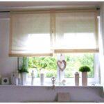 Kchenfenster Gardinen Modern Das Beste Von Fenster Mit Unterlicht Raffrollo Küche Wohnzimmer Raffrollo Küchenfenster