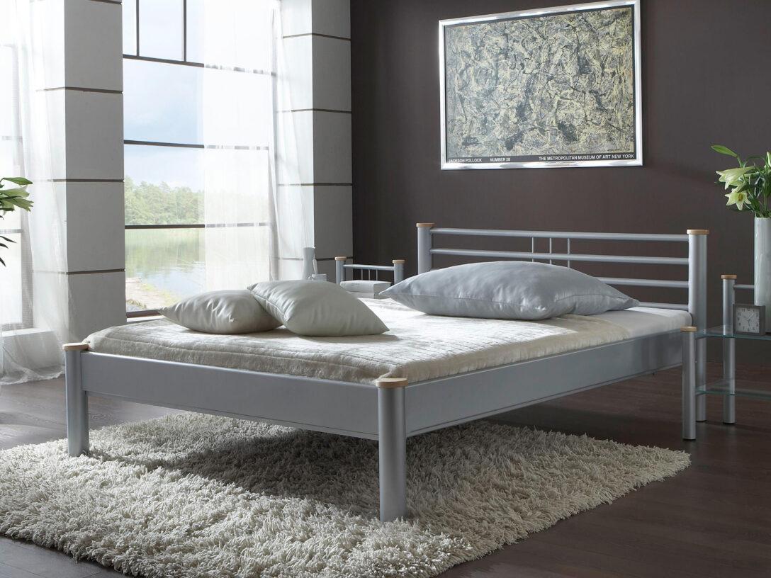 Large Size of Metallbett 100x200 Schlichter Christina Bett Weiß Betten Wohnzimmer Metallbett 100x200