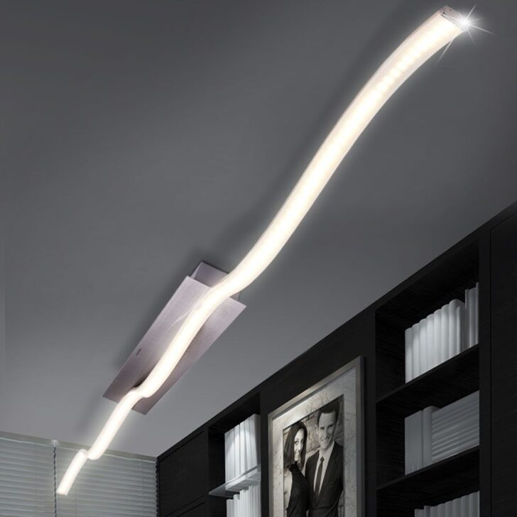 Medium Size of Led Wohnzimmer Deckenleuchte Details Zu Decken Lampe Leuchte Beleuchtung Wohn Schlaf Ess Wildleder Sofa Bad Gardinen Für Stehlampe Lampen Moderne Wohnzimmer Led Wohnzimmer Deckenleuchte
