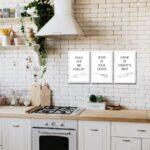 Kchen Songs Poster 3er Set 20 30 Cm Kleinformat Jetzt Küchen Regal Wohnzimmer Real Küchen