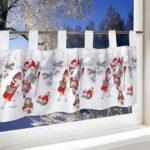 Scheibengardinen Blickdicht Wohnzimmer Scheibengardine Weihnachtsengel Blickdicht In 3 Gren Ts24 Scheibengardinen Küche