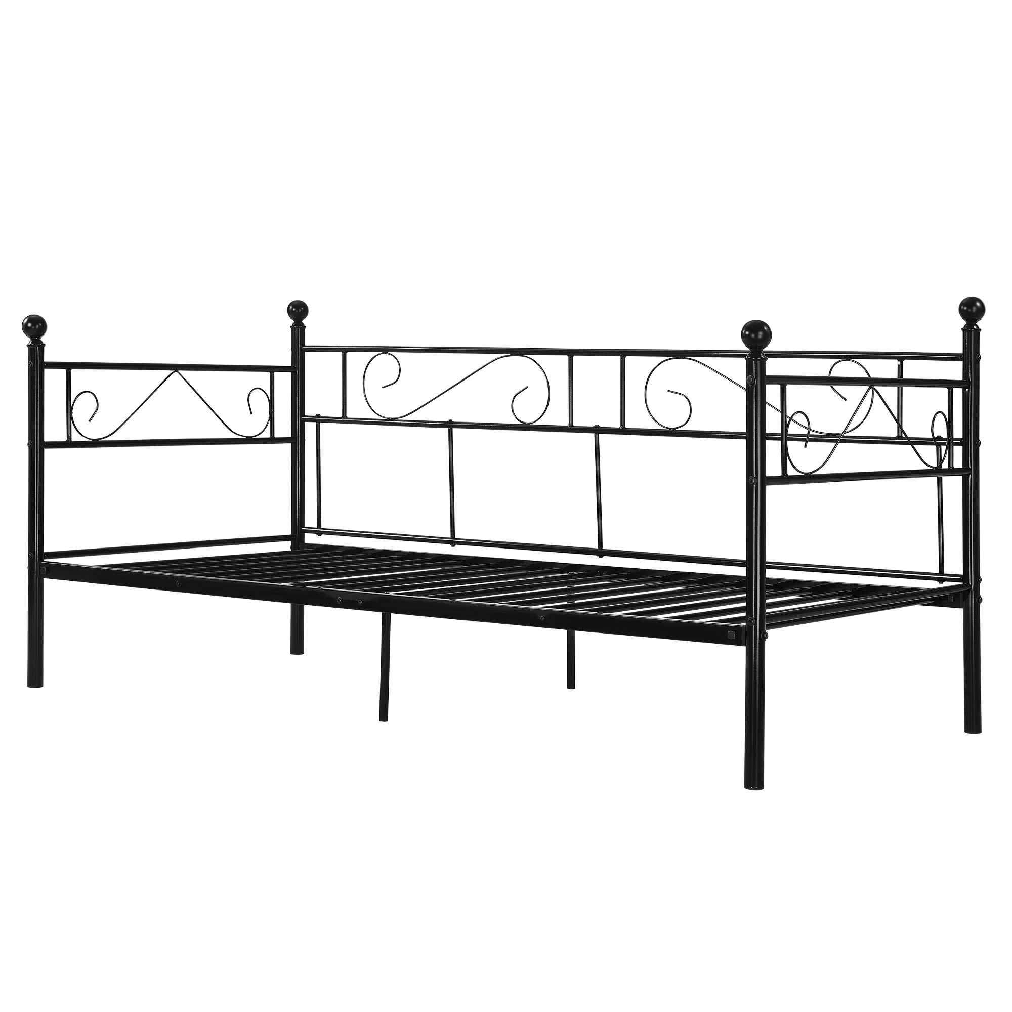 Full Size of Encasa Tagesbett 90x200 Metallbett Bett Daybed Bettsofa Kojenbett Betten 100x200 Weiß Wohnzimmer Metallbett 100x200