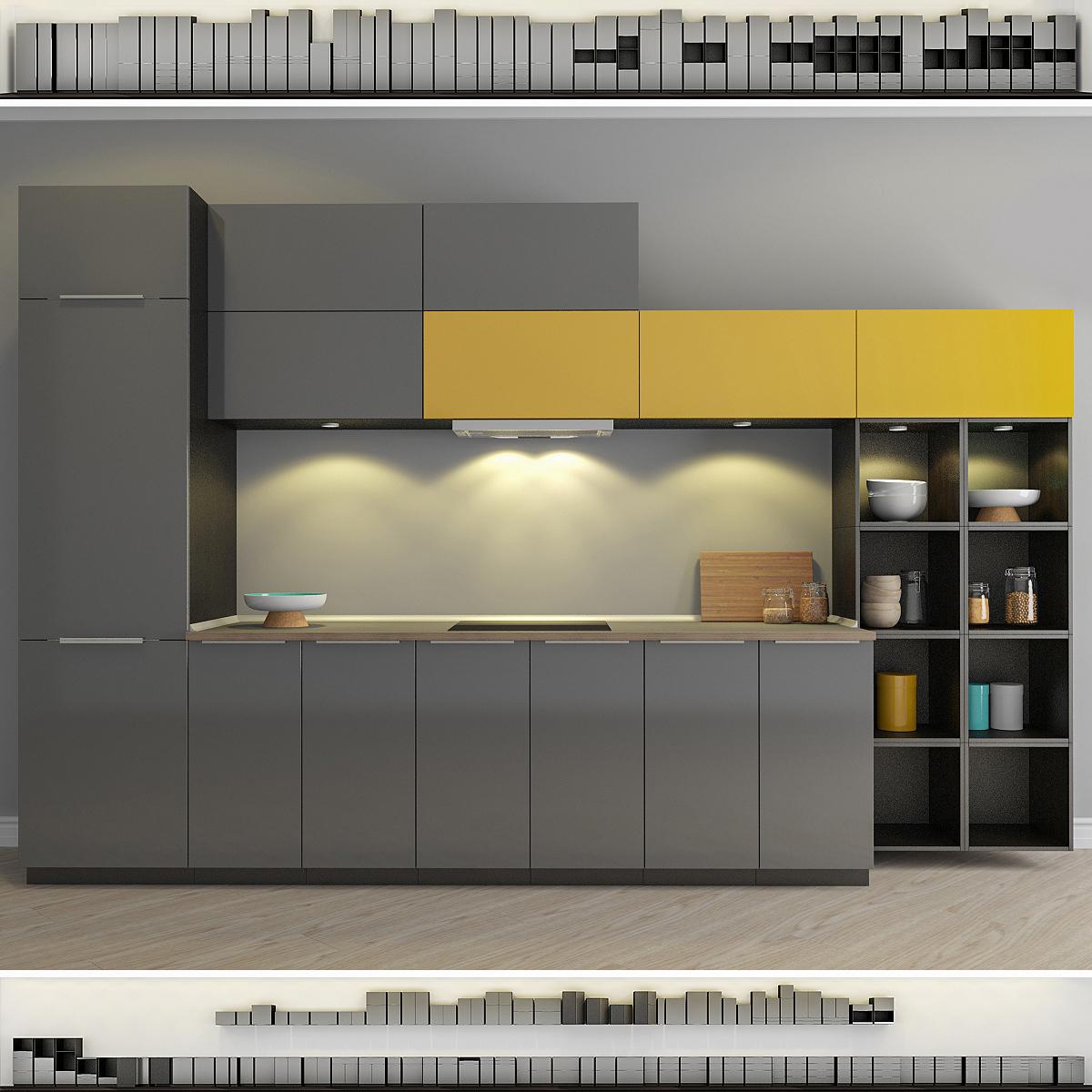 Full Size of Ringhult Ikea Modelo 3d Cocina Turbosquid 1046183 Küche Kosten Betten Bei 160x200 Sofa Mit Schlaffunktion Miniküche Kaufen Modulküche Wohnzimmer Ringhult Ikea