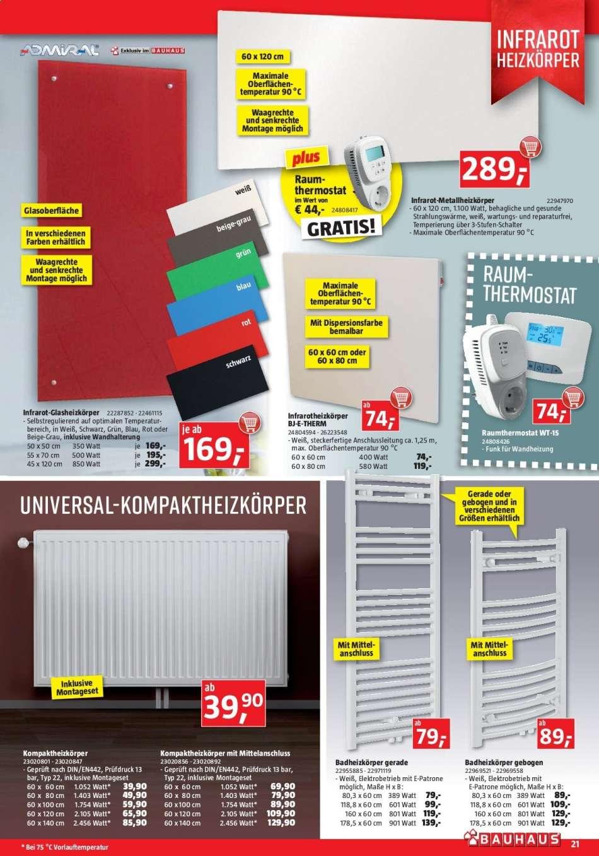 Full Size of Heizkörper Bauhaus Angebote 2792019 29102019 Rabatt Kompass Badezimmer Elektroheizkörper Bad Fenster Wohnzimmer Für Wohnzimmer Heizkörper Bauhaus