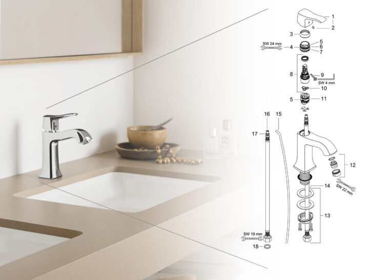 Medium Size of Hansgrohe Ersatzteile Und Serviceteile Bad Online Suchen Grohe Dusche Thermostat Velux Fenster Wohnzimmer Grohe Küchenarmatur Ersatzteile