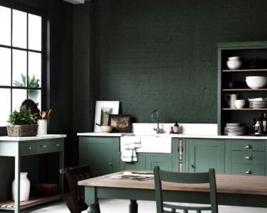 Landhausküche Grün Wohnzimmer Landhausküche Grün Kche In Zartem Mintgrn Und Grn Wohnkonfetti Weisse Grau Weiß Grünes Sofa Küche Mintgrün Moderne Regal Gebraucht