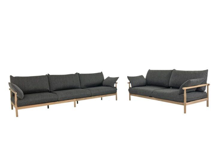 Medium Size of Couch Terrasse Dedon Tibbo Sofa 3 Und 2 Fr Garten In Teak Mit Wohnzimmer Couch Terrasse
