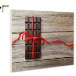 Magnettafel Pinnwand Kche Tafel Schokoladeholz Essen Trinken Deckenlampe Küche Gardinen Für Die Massivholzküche Gebrauchte Kaufen Poco Ikea Landhausküche Wohnzimmer Pinnwand Küche