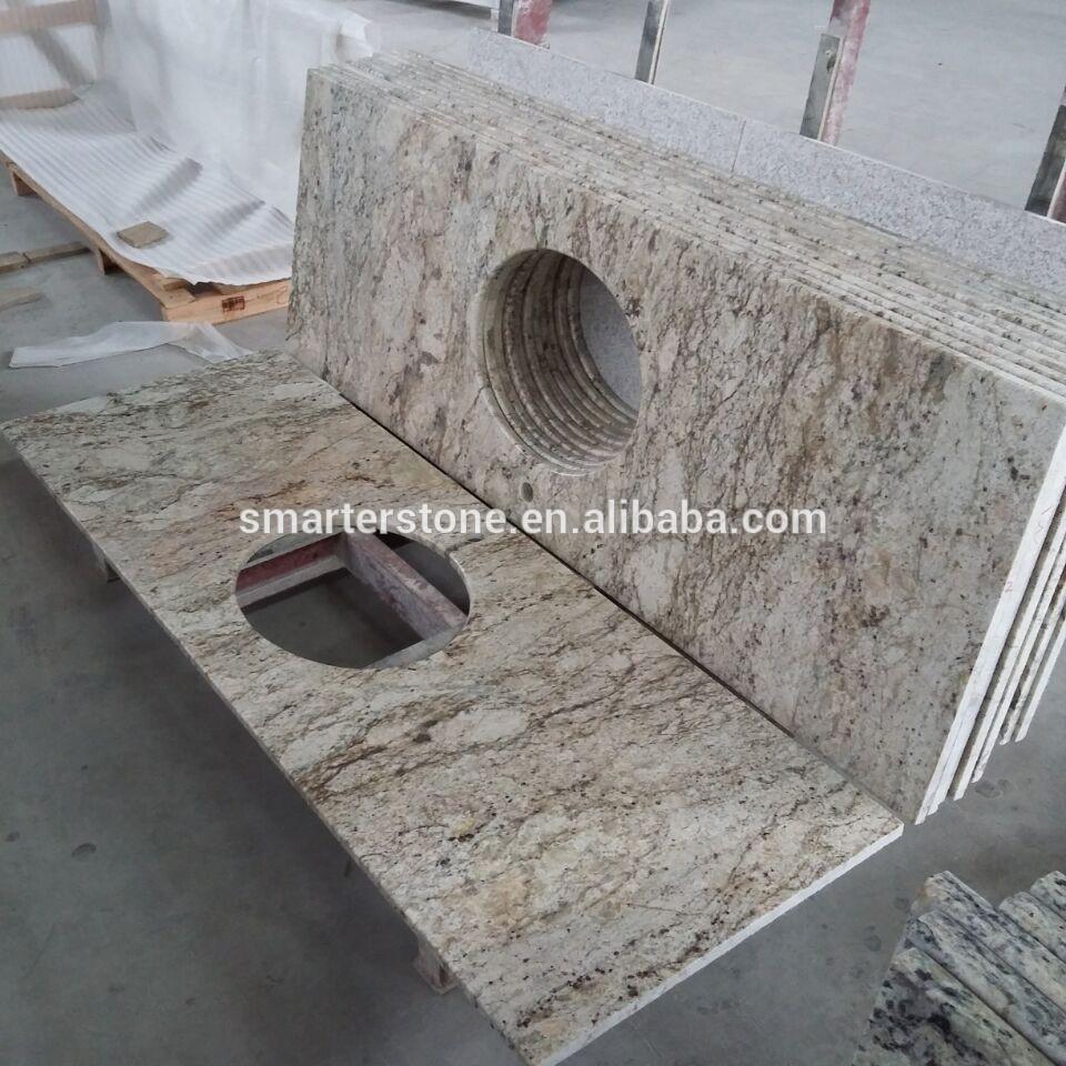 Full Size of Granit Arbeitsplatte Kalahari Gold Goldene Kchenarbeitsplatte Küche Sideboard Mit Granitplatten Arbeitsplatten Wohnzimmer Granit Arbeitsplatte