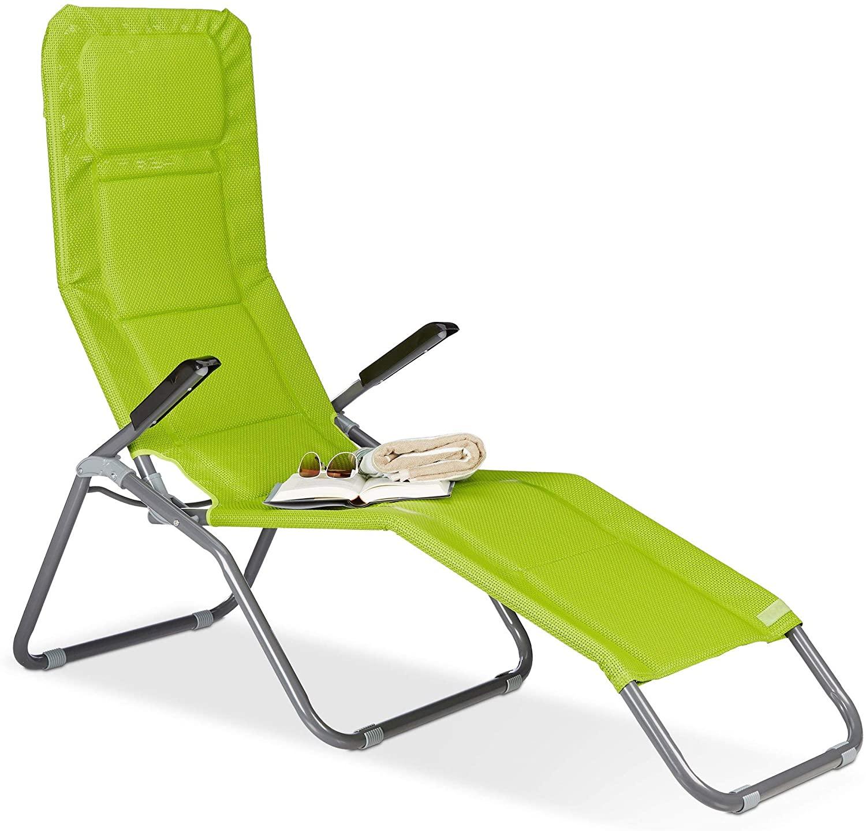Full Size of Amazonde Relaxdays Gartenliege Xxl Bis 150 Kg Belastbar Relaxsessel Garten Aldi Wohnzimmer Kippliege Aldi