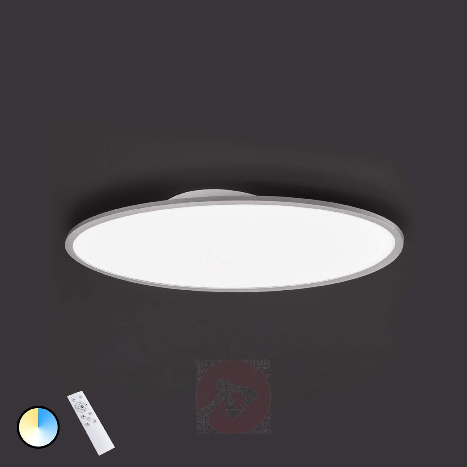 Full Size of Deckenlampe Led Dimmbar Valley Dimmbare Deckenleuchte Kaufen Lampenweltde Beleuchtung Küche Sofa Grau Leder Deckenlampen Für Wohnzimmer Einbauleuchten Bad Wohnzimmer Deckenlampe Led Dimmbar