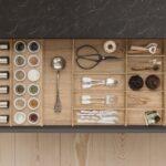 Kchenausstattung Von Siematic Individuell Schubladeneinsatz Küche Wohnzimmer Gewürze Schubladeneinsatz