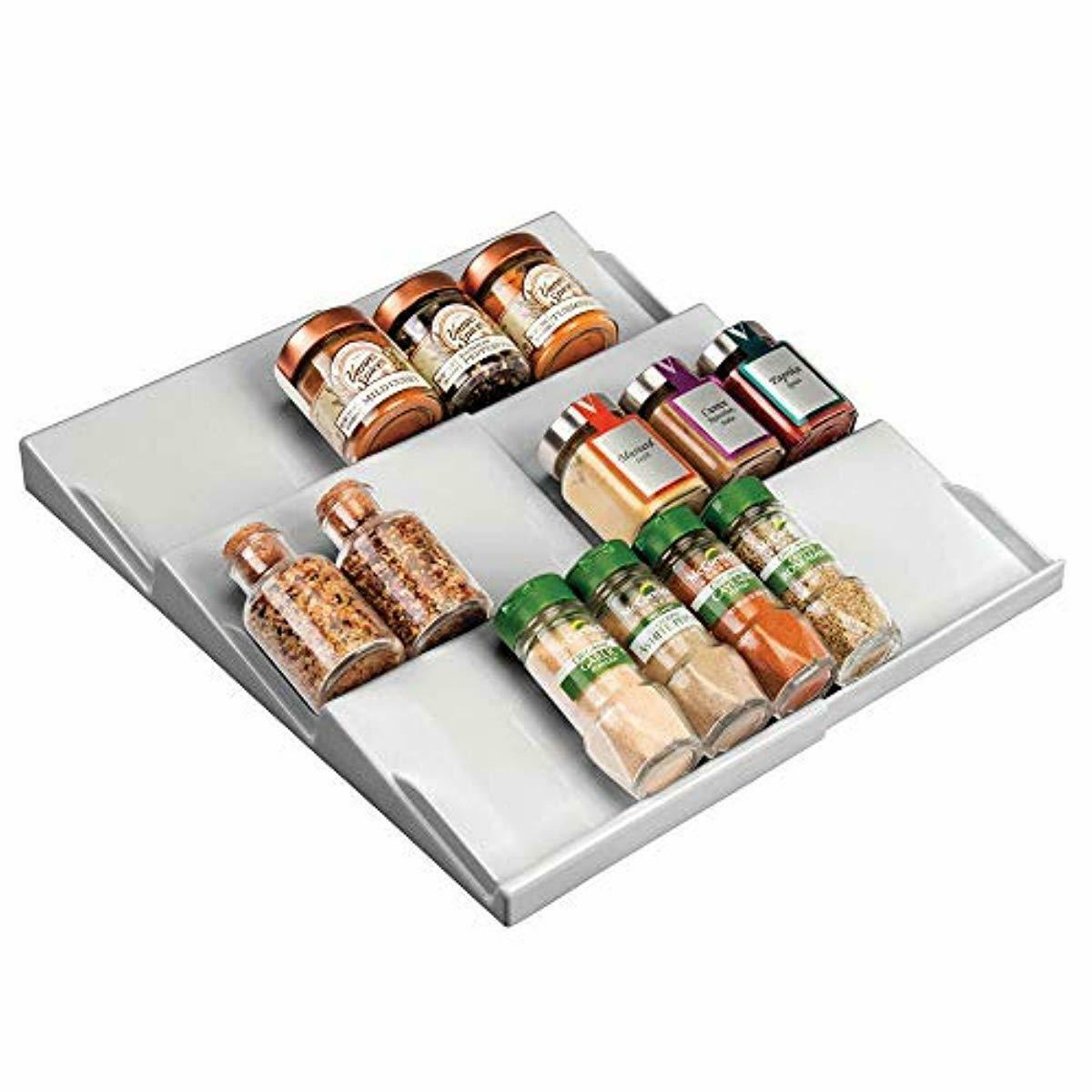 Full Size of Gewürze Schubladeneinsatz Mdesign Gewrzhalter Fr Schubladen Auf 36 Küche Wohnzimmer Gewürze Schubladeneinsatz