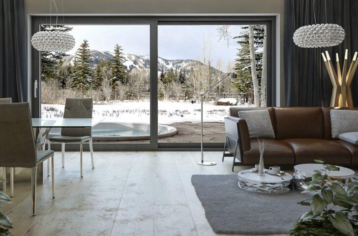 Medium Size of Vorhang Terrassentür Terrassen Schiebetren Zu Gnstigen Preisen Fensterblickde Wohnzimmer Küche Bad Wohnzimmer Vorhang Terrassentür