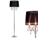 Kristall Stehlampe Edel Stehleuchte Lampe Wohnzimmerlampe Leuchte Wohnzimmer Stehlampen Schlafzimmer Wohnzimmer Kristall Stehlampe