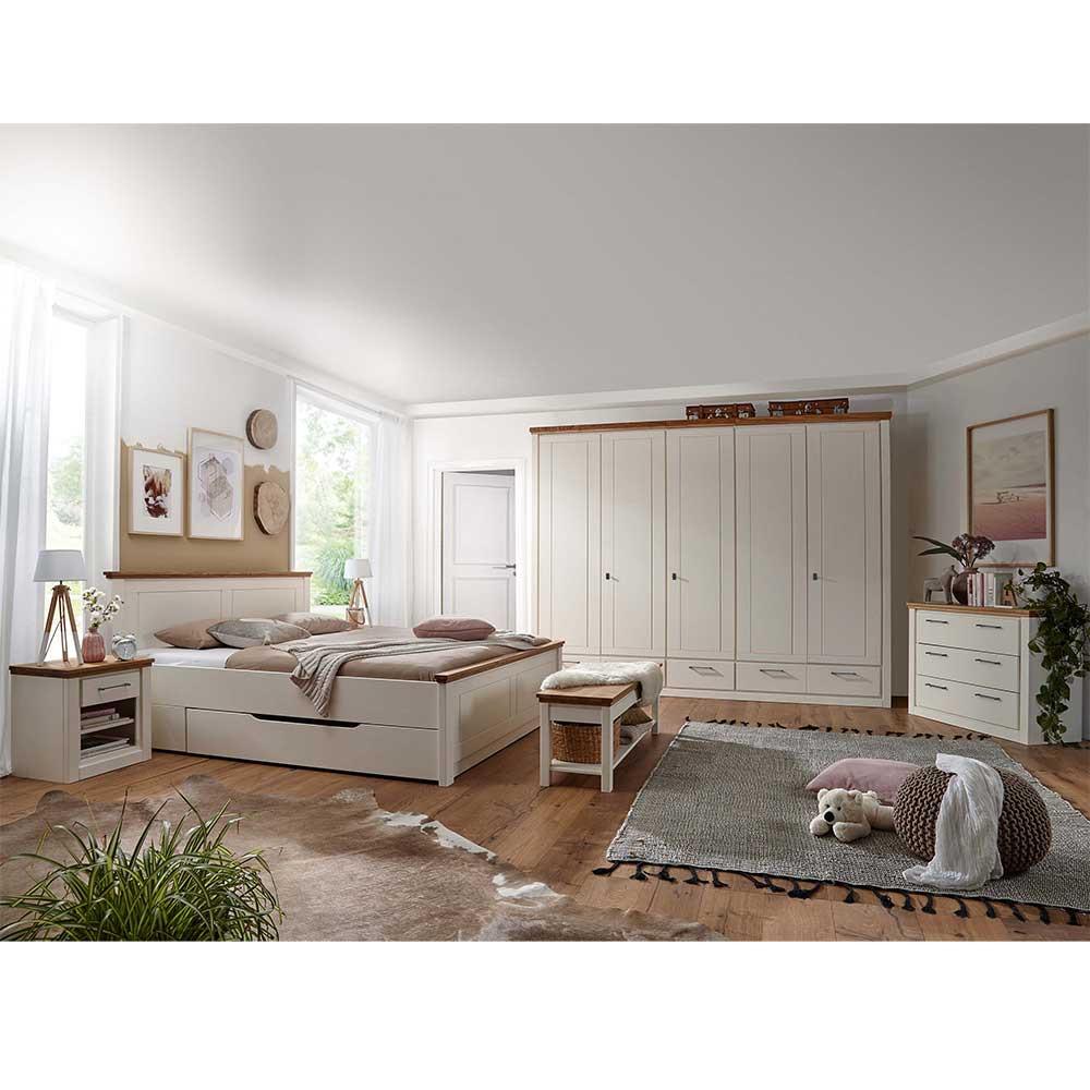Full Size of Landhausstil Schlafzimmer Wei Boxspring Bett Deckenlampe Mit Klimagerät Für Deckenleuchte Kommoden Landhaus Gardinen Lampen Günstige Komplett Set Matratze Wohnzimmer Schlafzimmer überbau