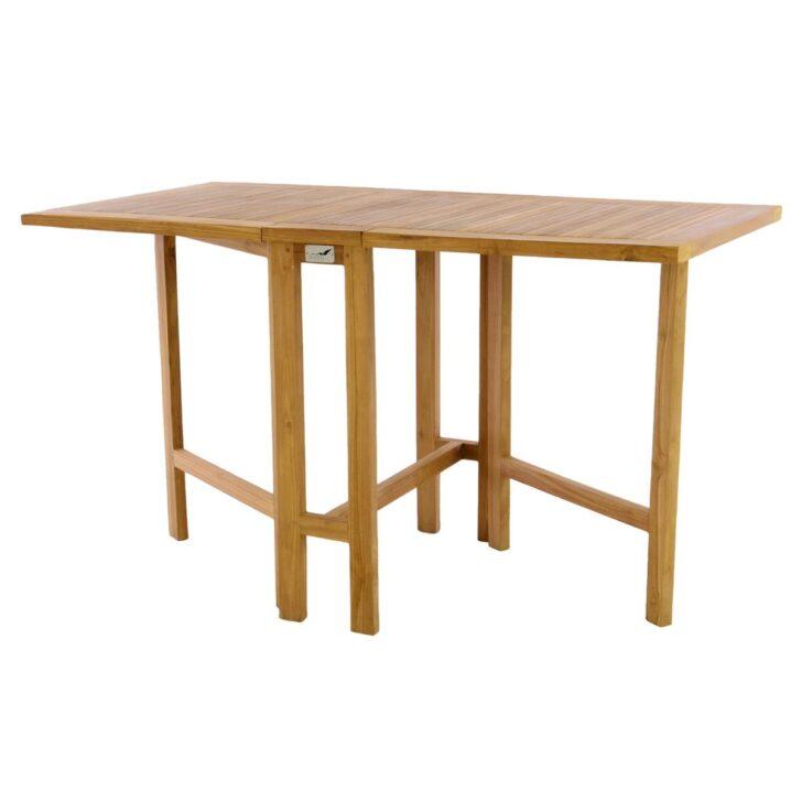Medium Size of Divero Balkontisch Klapptisch Tisch Terrasse Garten Teakholz Ausklappbares Bett Ausklappbar Wohnzimmer Balkontisch Klappbar