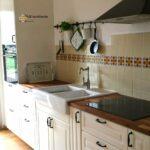 Küche Fliesenspiegel Moderne Landhausküche Selber Machen Gebraucht Weiß Weisse Grau Glas Wohnzimmer Fliesenspiegel Landhausküche