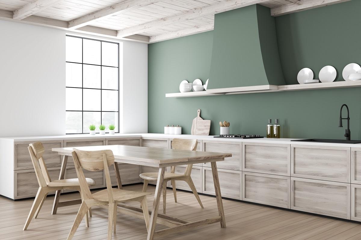 Full Size of Weiße Küche Wandfarbe Grne Kchen Kchendesignmagazin Lassen Sie Sich Inspirieren Eckschrank Beistellregal Was Kostet Eine Wandverkleidung Schmales Regal Wohnzimmer Weiße Küche Wandfarbe