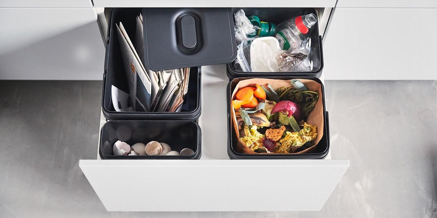 Full Size of Auszug Mülleimer Ikea Haushalt Mll Abfalleimer Variera Behlter Fr Kche Modern Küche Kaufen Einbau Kosten Doppel Sofa Mit Schlaffunktion Betten Bei 160x200 Wohnzimmer Auszug Mülleimer Ikea