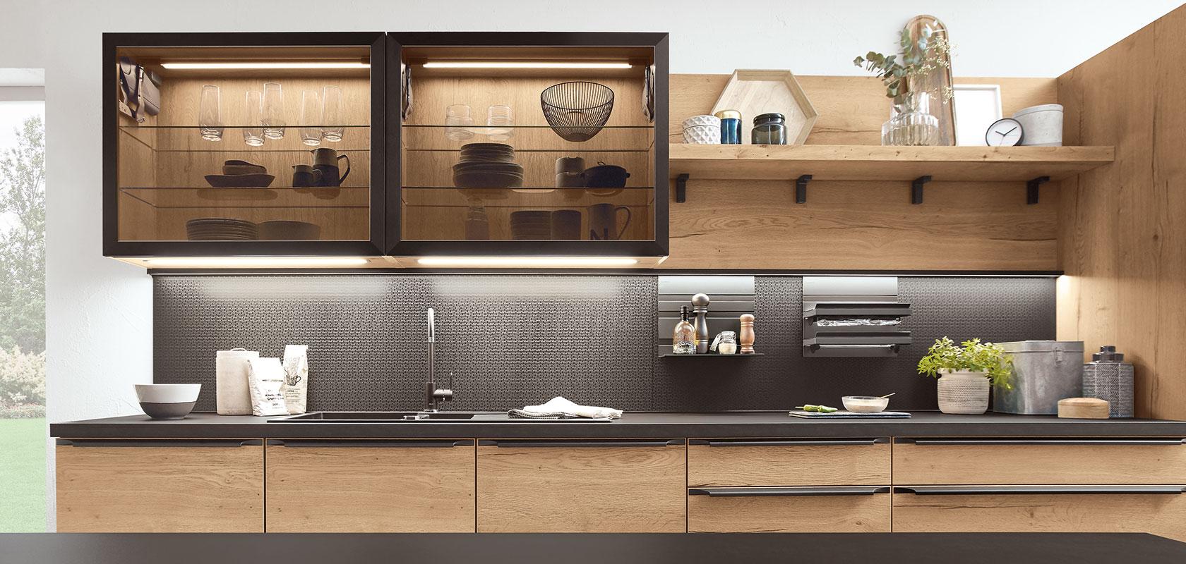 Full Size of Alles Zur Nischengestaltung Nobilia Kchen Einbauküche Küche Wohnzimmer Nobilia Wandabschlussleiste