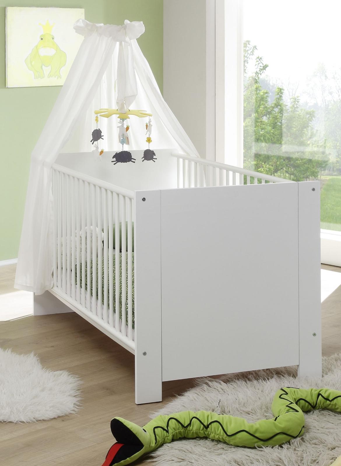 Full Size of Babybett Schwarz Gitterbett Olivia Wei 70 140 Cm Schwarzes Bett 180x200 Schwarze Küche Weiß Wohnzimmer Babybett Schwarz