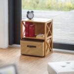 Regal Bambus Mit Korb Sofa Kleines Wohnzimmer Holzregal Badezimmer Weiß Schubladen Kleiner Esstisch Klein Kleine Küche L Form Neu Gestalten Bad Planen Wohnzimmer Holzregal Klein