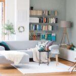 Wohnideen Im Skandinavischen Design Und Wohnstil Wohnzimmer Deckenlampen Led Beleuchtung Teppich Deckenleuchte Deckenleuchten Indirekte Moderne Deckenlampe Wohnzimmer Wohnzimmer Wandbilder