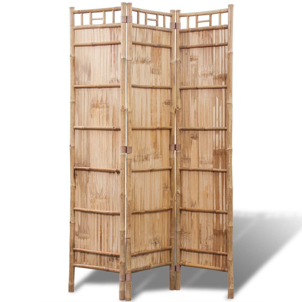 Full Size of Bambus Raumteiler Paravent 3 Teilig Gitoparts Garten Bett Wohnzimmer Paravent Bambus