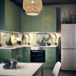Küche Salbeigrün Salbeigrn Kche Grn Dekorieren 70er Wandgestaltung Mintgrn Komplette Gardine Obi Einbauküche Behindertengerechte Lüftungsgitter Selber Wohnzimmer Küche Salbeigrün