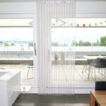 Vorhang Terrassentür Wohnzimmer Vorhang Terrassentür Insektenschutz Balkontr Ohne Bohren So Gehts Vorhangboxch Küche Wohnzimmer Bad