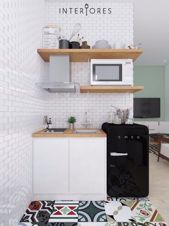 Full Size of Miniküche Ideen Eclectic Mit Kühlschrank Stengel Ikea Bad Renovieren Wohnzimmer Tapeten Wohnzimmer Miniküche Ideen