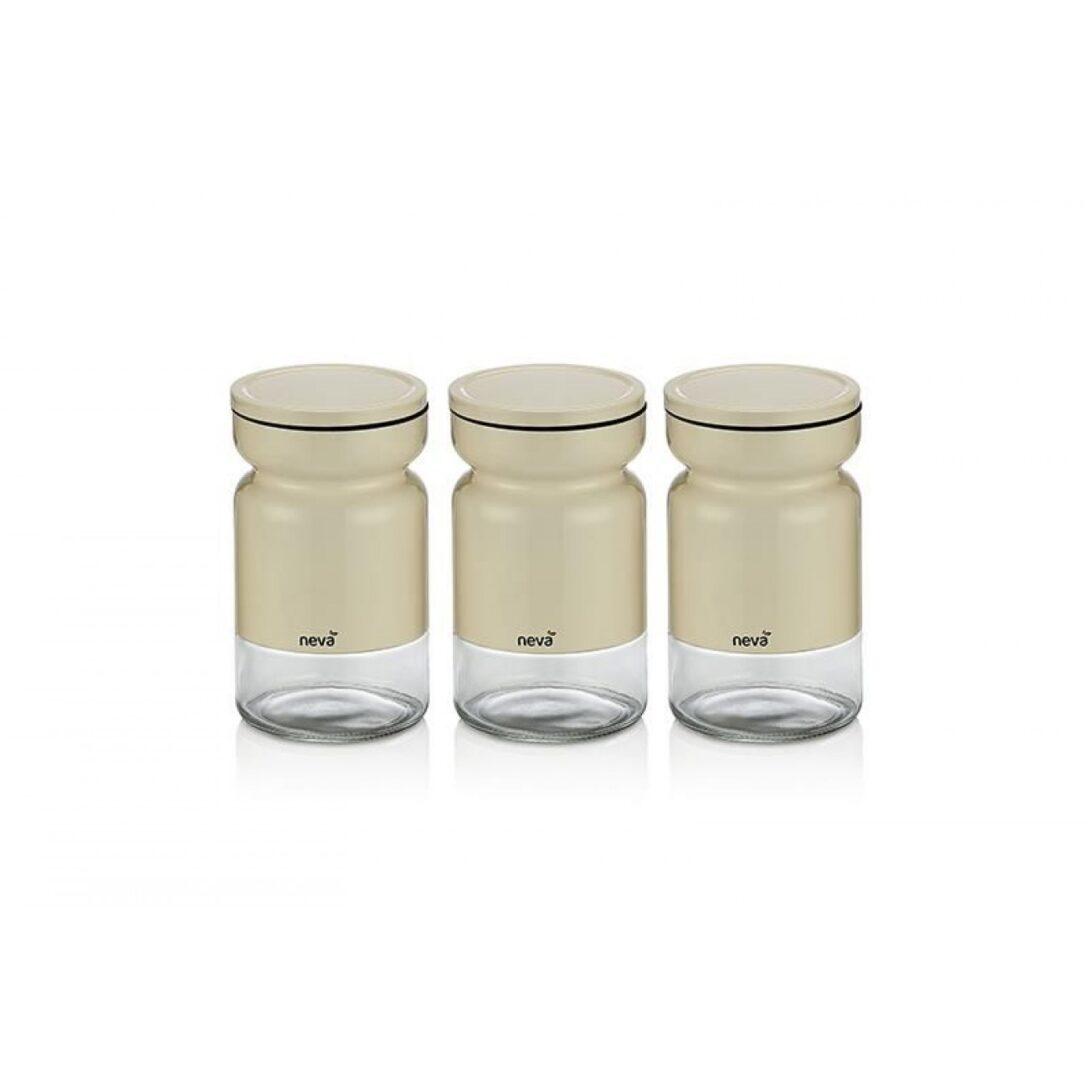 Large Size of Aufbewahrungsbehälter Sweet Serie Creme Serieneva 3 Tlg Küche Wohnzimmer Aufbewahrungsbehälter