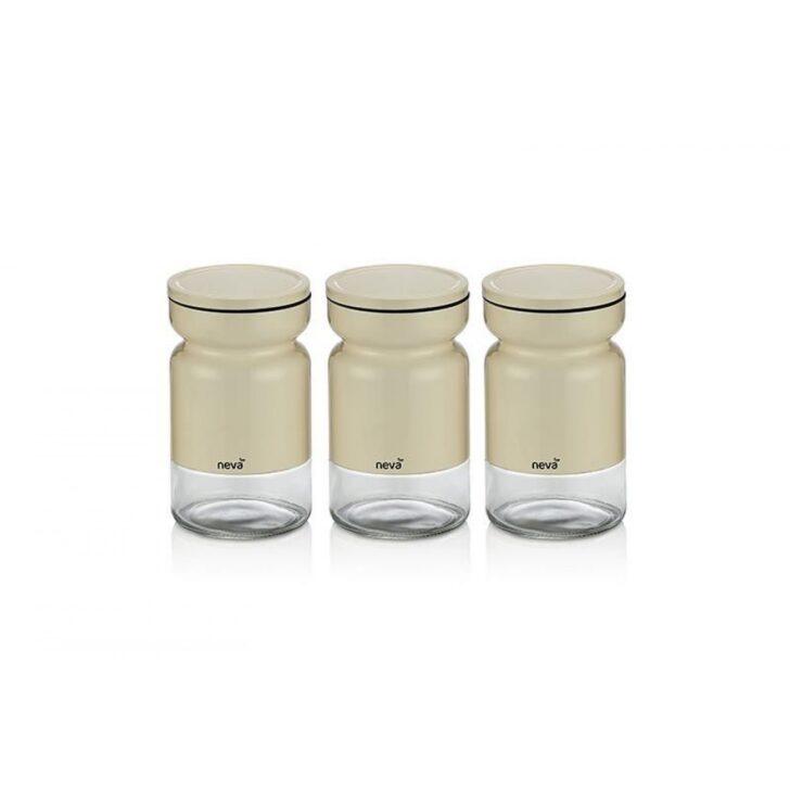 Medium Size of Aufbewahrungsbehälter Sweet Serie Creme Serieneva 3 Tlg Küche Wohnzimmer Aufbewahrungsbehälter