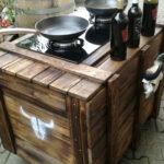 Kochinseln Ricwerkde Mobile Küche Wohnzimmer Mobile Outdoorküche