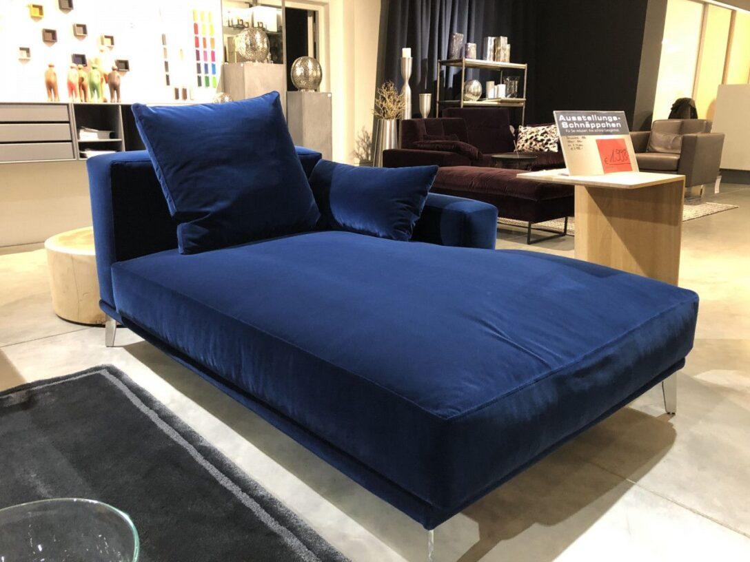 Large Size of Grozgige Recamiere In Blauem Samt Sofa Couch Trend Mbel Mit Wohnzimmer Recamiere Samt
