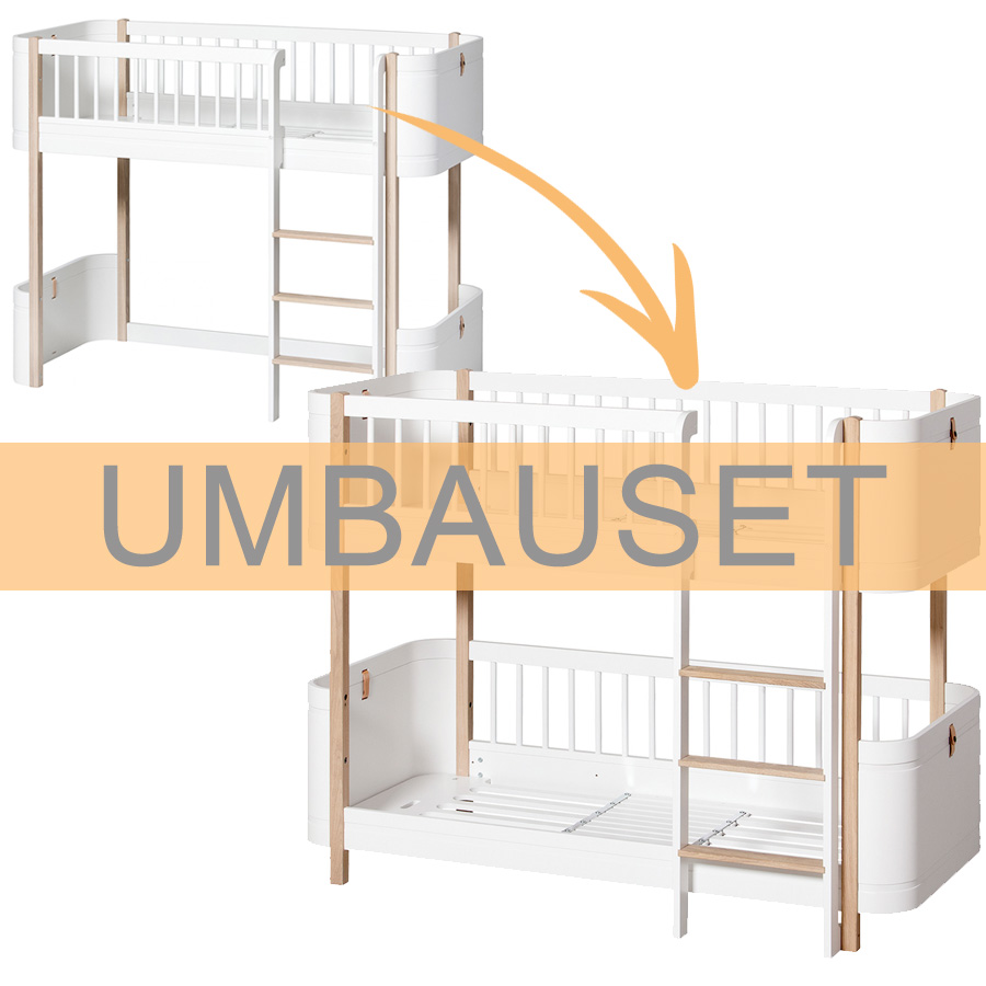 Full Size of Halbhohes Hochbett Oliver Furniture Umbauset Wood Mini Zum Bett Wohnzimmer Halbhohes Hochbett