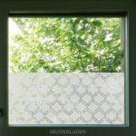 Fensterfolie Sichtschutz Dekoration Marokkanisch 2 Wohnzimmer Fensterfolie Blickdicht