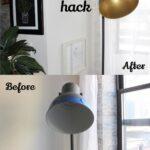 Quick Easy Ikea Lamp Hack Mit Bildern Stehlampe Küche Kosten Kaufen Betten 160x200 Bei Miniküche Modulküche Sofa Schlaffunktion Wohnzimmer Wohnzimmerlampen Ikea