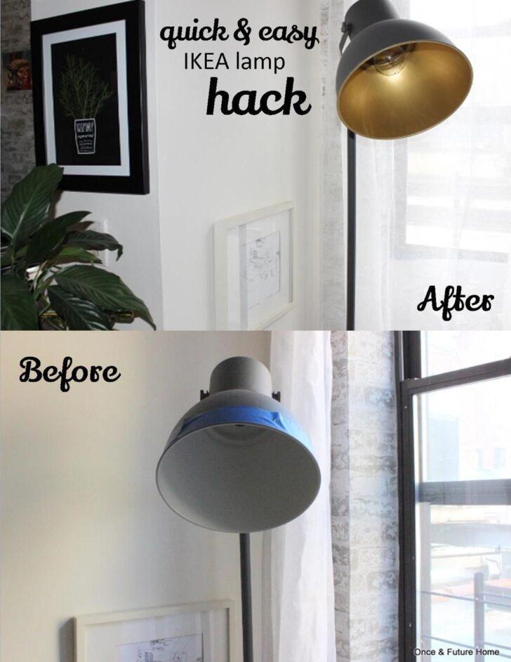 Medium Size of Quick Easy Ikea Lamp Hack Mit Bildern Stehlampe Küche Kosten Kaufen Betten 160x200 Bei Miniküche Modulküche Sofa Schlaffunktion Wohnzimmer Wohnzimmerlampen Ikea