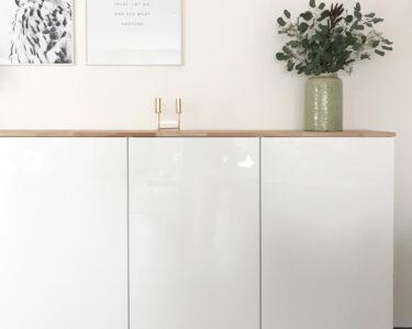 Anrichte Küche Mit Arbeitsplatte Wohnzimmer Ikea Hack Metod Kchenschrank Als Sideboard Granitplatten Küche Kaufen Mit Elektrogeräten Arbeitsplatte Bett Hohem Kopfteil Möbelgriffe Hochglanz Grau Regal
