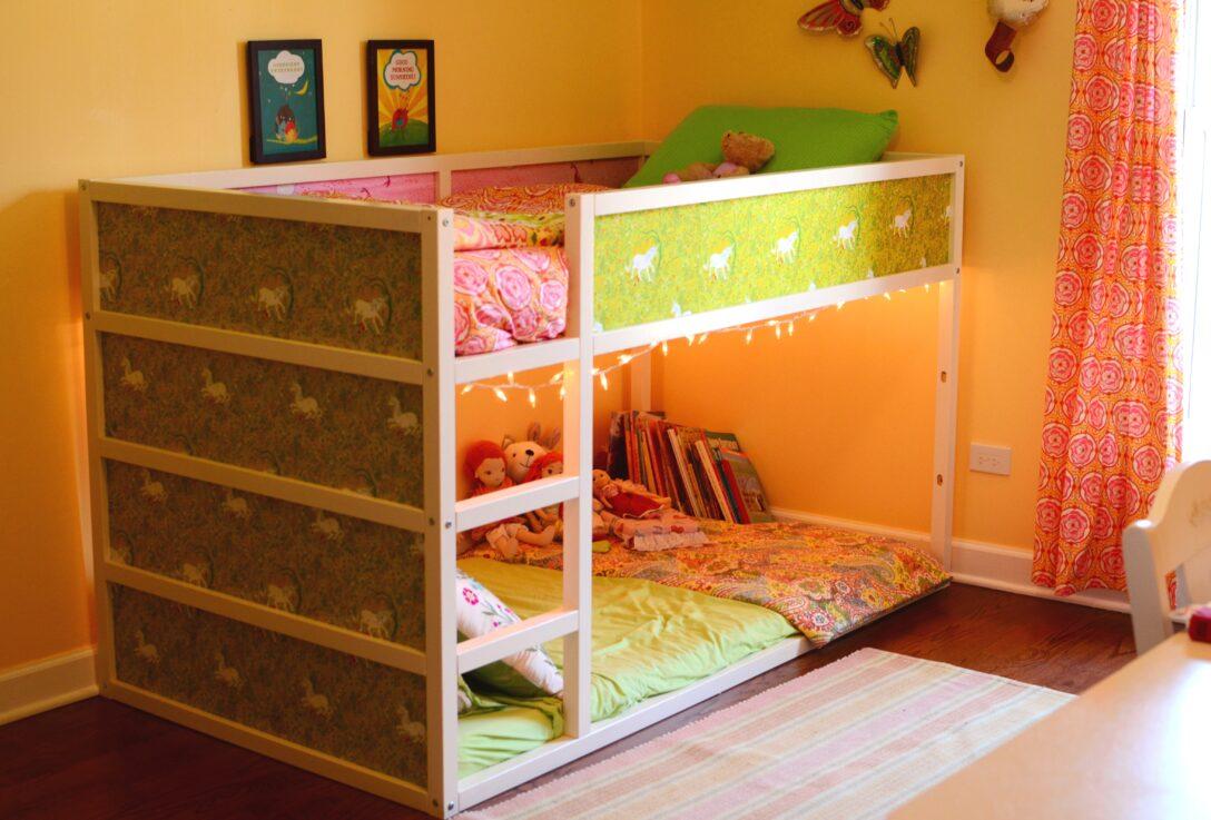 Large Size of Kura Hack Bed Storage Ideas Montessori Ikea Underneath Bunk Rosemary Mornings Wohnzimmer Kura Hack