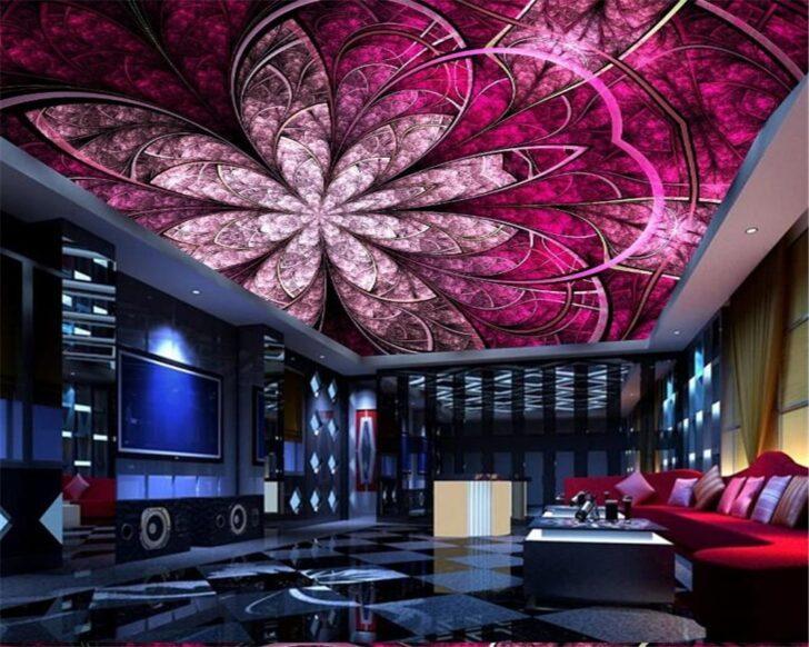 Medium Size of Wohnzimmer Beibehang Wand Papier Europischen Luxus Kunst Blumen Dach Led Wohnwand Fürs Tapeten Tisch Küche Anbauwand Landhausstil Wohnzimmer Wohnzimmer Decke