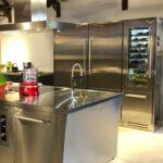 Edelstahl Küchen Wohnzimmer Edelstahl Küchen Lsst Eine Kche Gleich Professionell Wirken Edelstahlküche Gebraucht Regal Outdoor Küche Garten