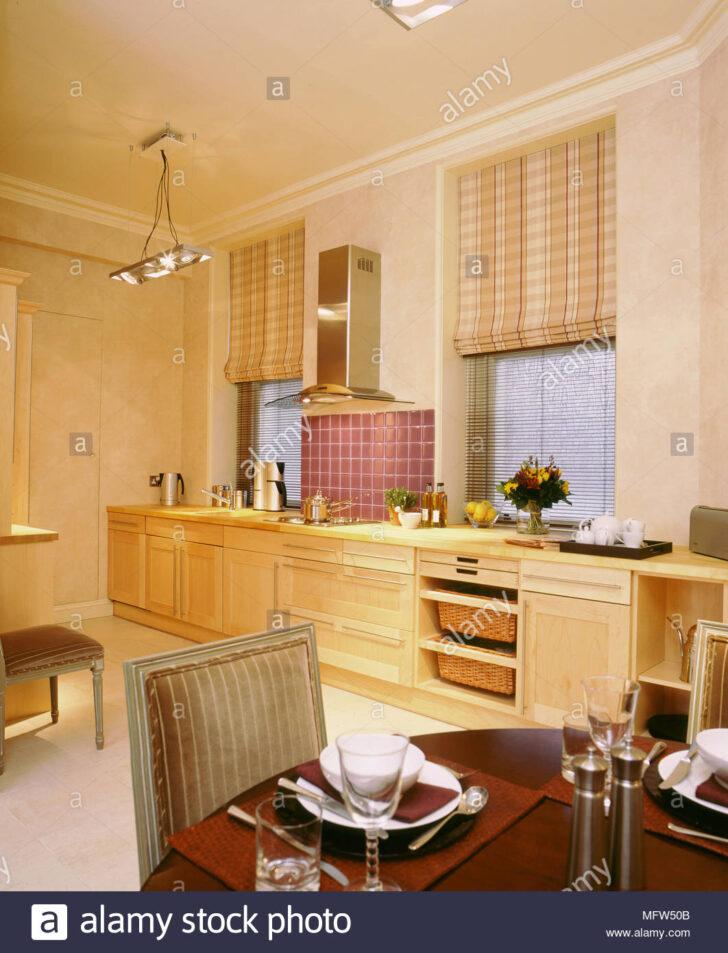Medium Size of Raffrollo Küche Küchen Regal Wohnzimmer Küchen Raffrollo