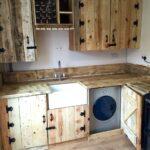 Rustikale Küche Selber Bauen Wohnzimmer Pallet Kitchen All Finished Rustikale Kchenschrnke Hängeschrank Küche Singleküche Aluminium Verbundplatte Hängeregal Schreinerküche Rückwand Glas